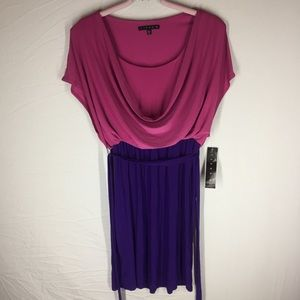NWT Purple Tiana B Size 6 Dress